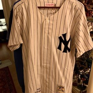 Mitchell & Ness Lou Gehrig New York Yankees jersey